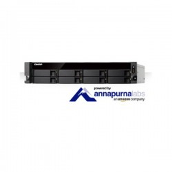 Qnap - QNAP TS-831XU-RP (4GB DDR3L Ram) Nas Kayıt Cihazı