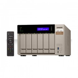 Qnap - QNAP TVS-673 8 GB All in One Turbo NAS